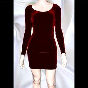 AMERICAN APPAREL • Velvet Minidress/ size (XS) NWT